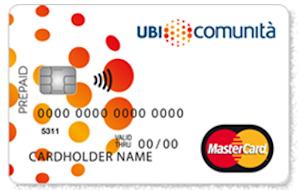 Carta prepagata Enjoy UBI comunità