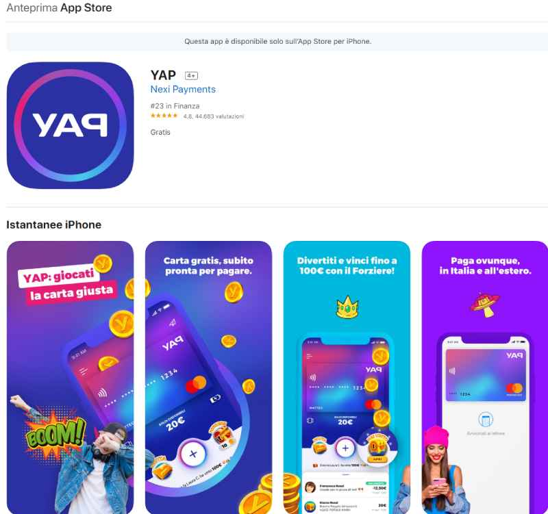 app yap iphone
