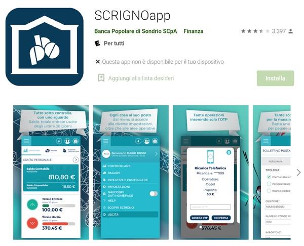 ScrignoApp Google Play