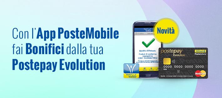 Bonifico Postepay Evolution