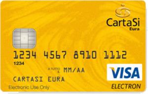 Carta prepagata CartaSì Eura