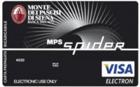 Carta prepagata MPS Spider