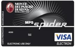 Carta prepagata MPS Spider