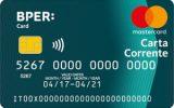 Carta prepagata BPER Card Carta Corrente