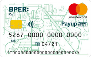 Carta BPER Card Payup Teen