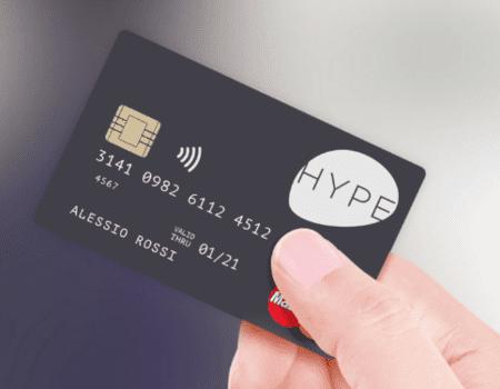 Carta di credito prepagata HYPE