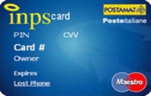 Carta prepagata Postepay INPS Card
