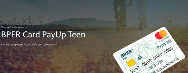 carta per giovani payup teen