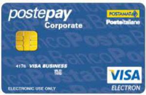 Carta prepagata Postepay Corporate