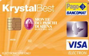 Carta prepagata Krystal Best