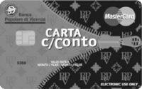 Carta prepagata c/Conto