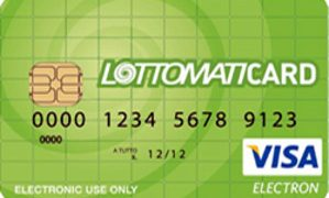 Carta prepagata Lottomaticard