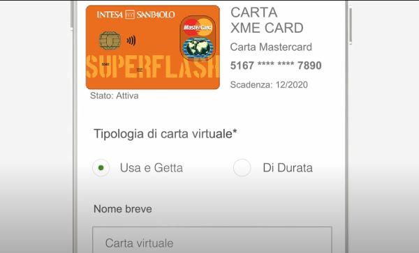 carta virtuale superflash