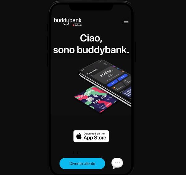 home page sito buddybank