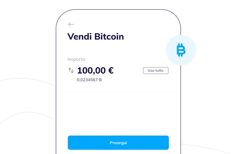 Vendere Bitcoin con Hype