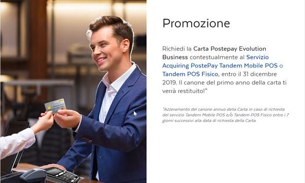 offerta postepay evolution business