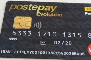 postepay evolution carta di credito