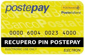 Strengthen Authorization to see  Come recuperare il PIN della PostePay