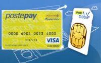 Ricaricare telefono con Postepay