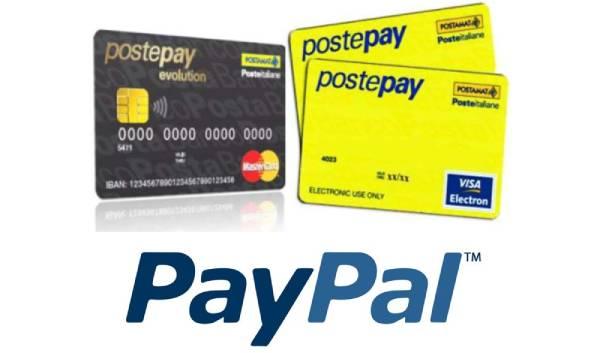 Trasferire soldi da PostePay a PayPal