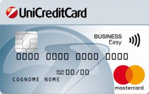 Carta prepagata UniCreditCard Business Easy