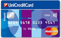 Carta prepagata UniCreditCard Click